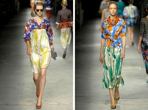 Dries van Noten Spring 08 rtw collectio