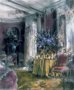 Living Room of Cecil Beaton, Redditch House, Broadchalice, Wiltshire, England, 2005