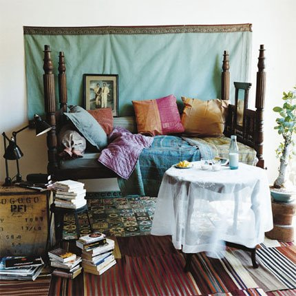 Bedroom from an older copy of Marie Claire Maison